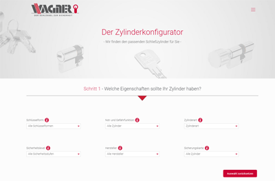 WordPress Agentur Referenz - WordPress Konfigurator